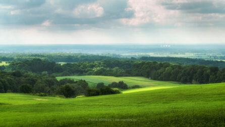 Widok z Góry Św Anny – VI 2008