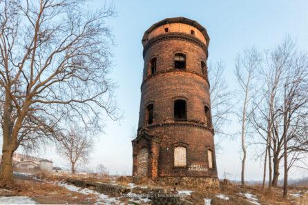 Wieża wodna byłej Huty Zabrze