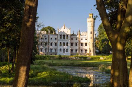 Pałac w Dobrej – lipiec 2021